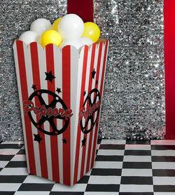 Giant Movie Popcorn Party Prop