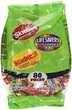 Skittles/Lifesavers/Starburst Candy Variety Pack, 80 count, 22.7 oz Wrigley