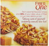 Fiber One Bar Oats and Caramel 5 - 1.4 oz Bars