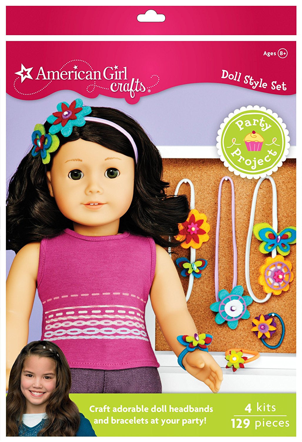 American Girl Crafts Doll Accessory Party Activity Kit