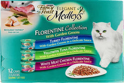 Purina Fancy Feast Elegant Medley's Florentine Collection Gourmet Cat Food - 12 CT