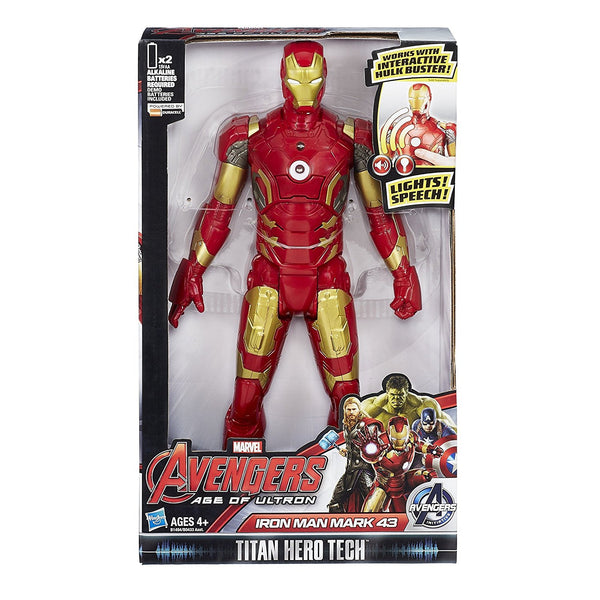 Marvel Avengers Age of Ultron Titan Hero Tech Iron Man 12 Inch Figure