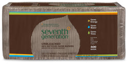 Seventh Generation Lunch Napkins (100% Recycled) Natural 1-ply 500 count (a)