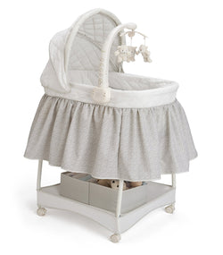 Delta Children Smooth Glide Bassinet