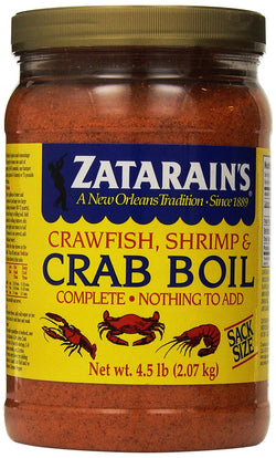 Zatarains Pre-seasoned Crab And Shrimp Boil