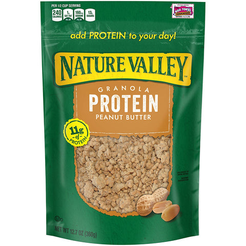 Nature Valley Peanut Butter Protein Granola, 12.7 Ounce