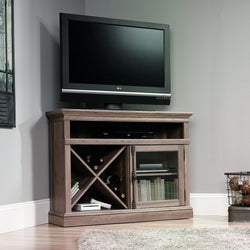 Sauder 42 in. Barrister Lane Corner TV Stand - Salt Oak