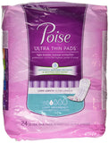 Poise Ultra Thins, Long, Light Absorbency - 24 ct