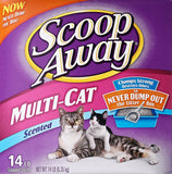 Scoop Away Multi-Cat, Scented Litter - 14 lb