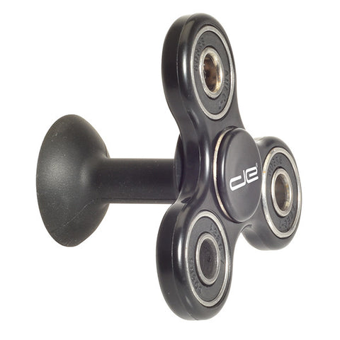 Black Phone Stand and Hand Spinner