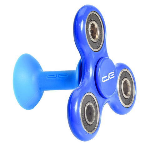 Blue Phone Stand and Hand Spinner
