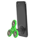 Green Phone Stand and Hand Spinner