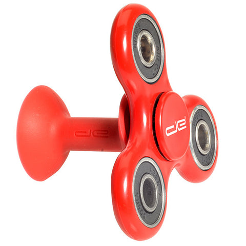 Red Phone Stand and Hand Spinner