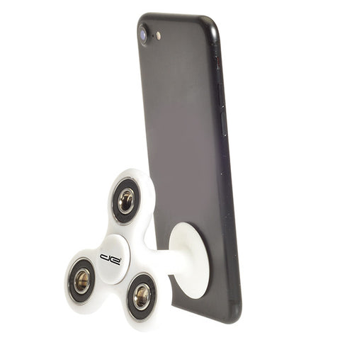 White Phone Stand and Hand Spinner