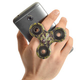 Camo Phone Stand and Hand Spinner