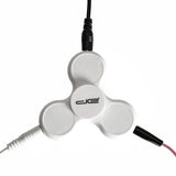 White Fidget Audio Spinner