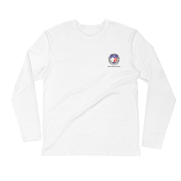 Gstaad Business School x Daffy Chick Long Sleeve - Alpenglow Logo