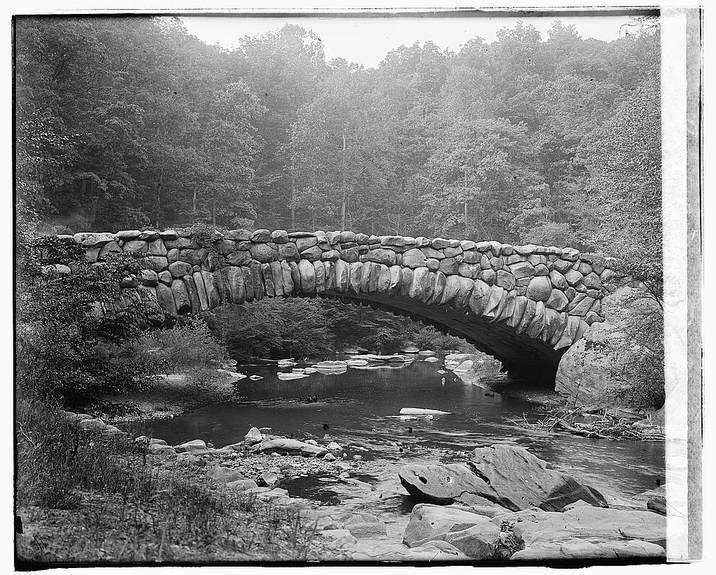 8 x 10 Reprinted Old Photo of Rock Creek Park 1919 National Photo Co  69a