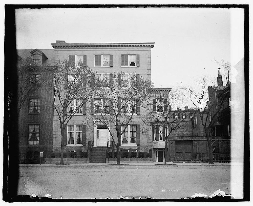8 x 10 Reprinted Old Photo of  Blair Mansion, 1651 Penn Ave., [Washington, D.C.] 1919 National Photo Co  18a
