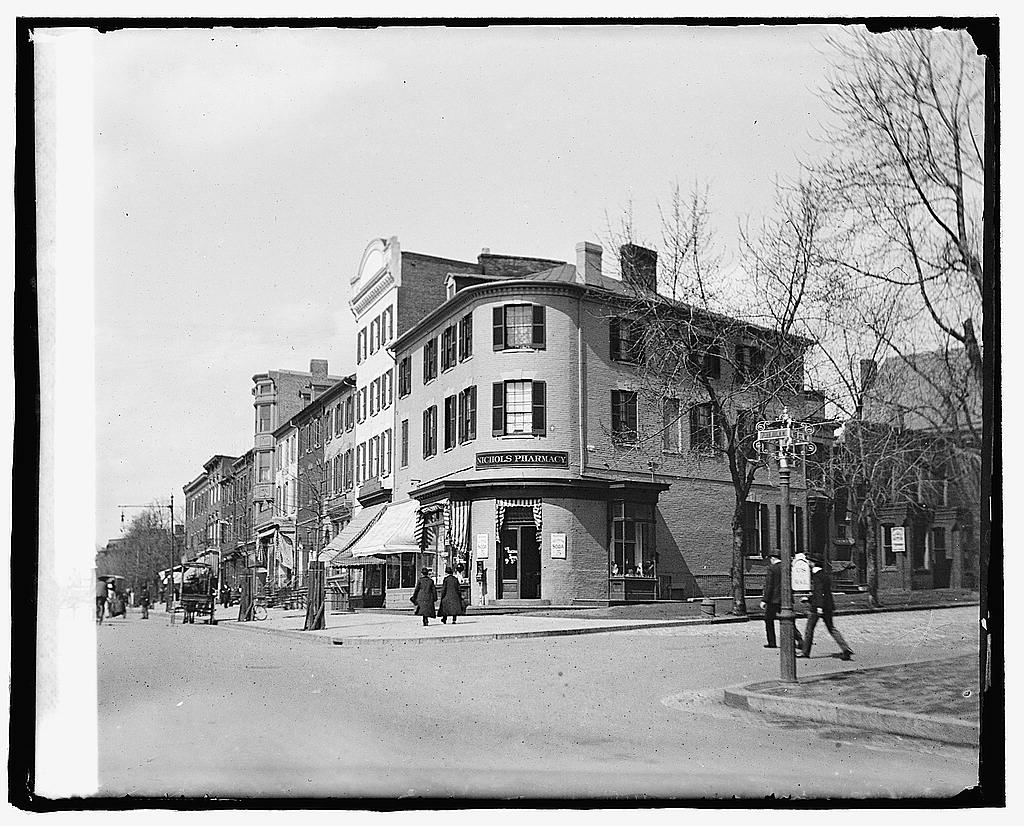 16 x 20 Reprinted Old Photo of Res. Jas. Madison, 19 & PA Ave., [Washington, D.C.] 1919 National Photo Co  19a