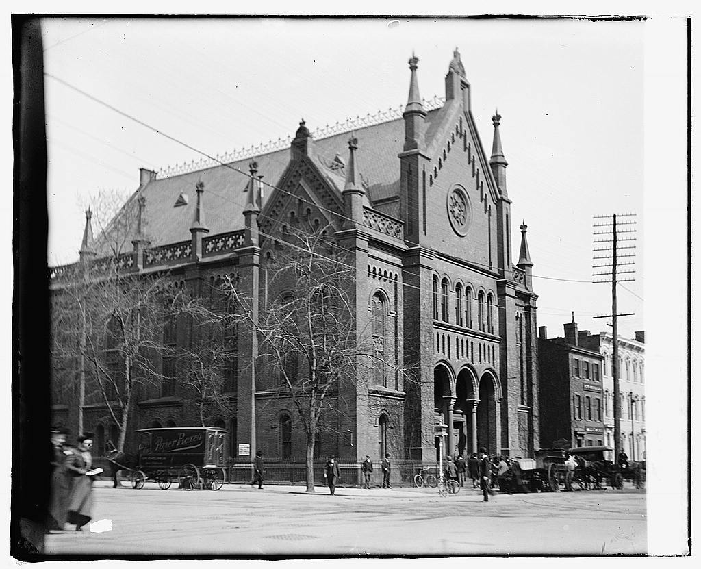 16 x 20 Reprinted Old Photo ofFoundry ME Church, 14th NW, now Colorado Blvd., [Washington, D.C. 1919 National Photo Co  80a