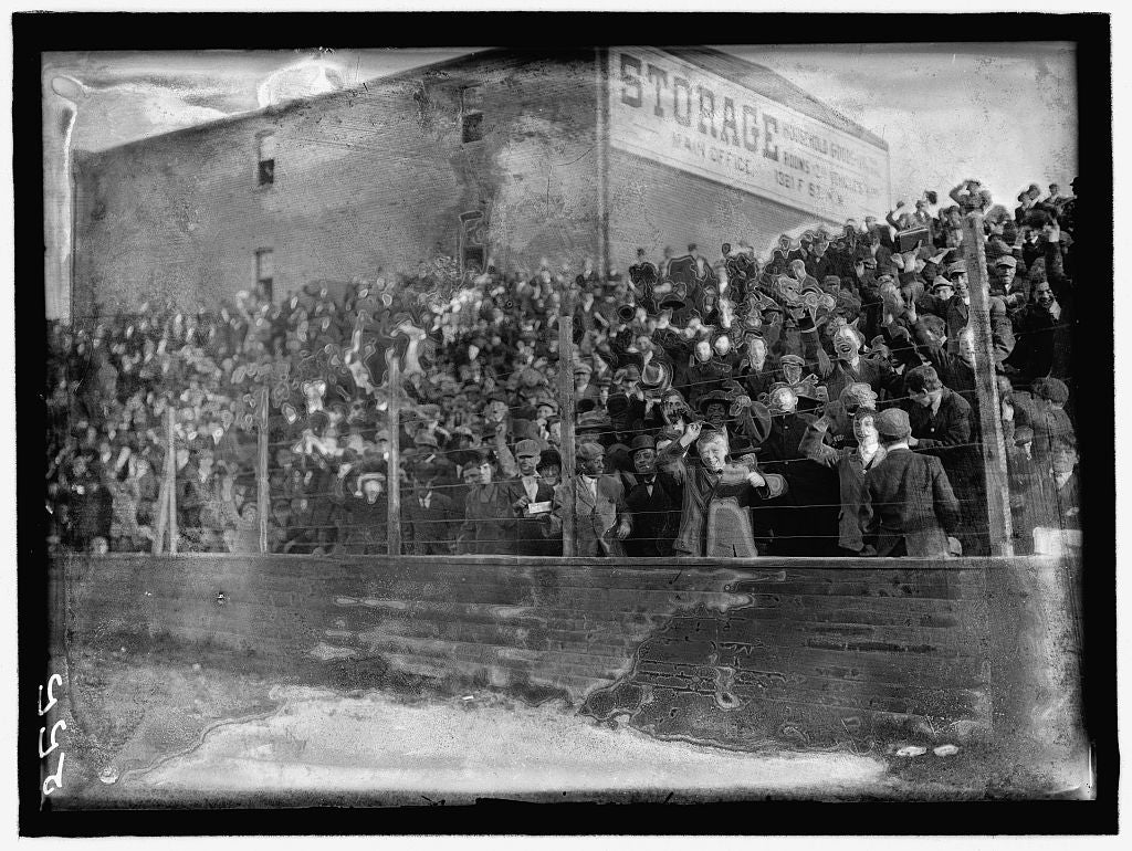 8 x 12 Reprinted Photo of BASEBALL, PROFESSIONAL. VIEW DURING GAME by Harris & Ewing, photographer 1911 347 BB_