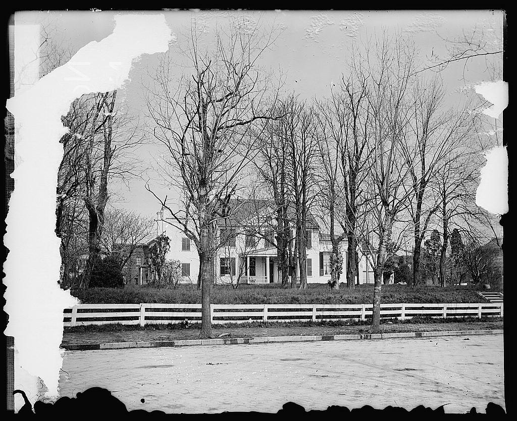 16 x 20 Reprinted Old Photo ofClever old house [...] SE 1919 National Photo Co  85a