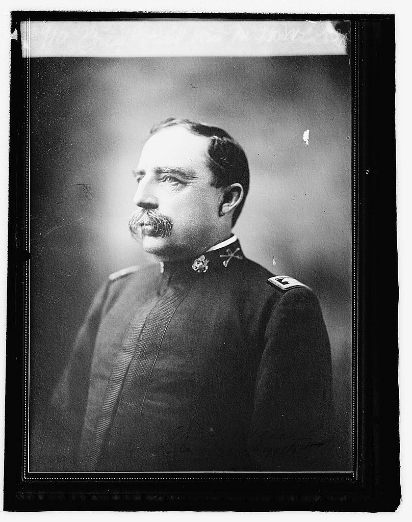 16 x 20 Reprinted Old Photo ofBrig. Gen'l. [...] M. Wallace 1919 National Photo Co  40a