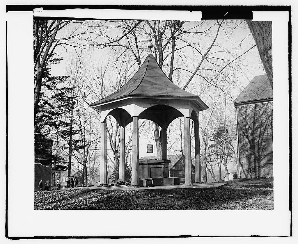 16 x 20 Gallery Wrapped Frame Art Canvas Print of Old well, Fairfax Court House, Va. 1919 National Photo Co  86a