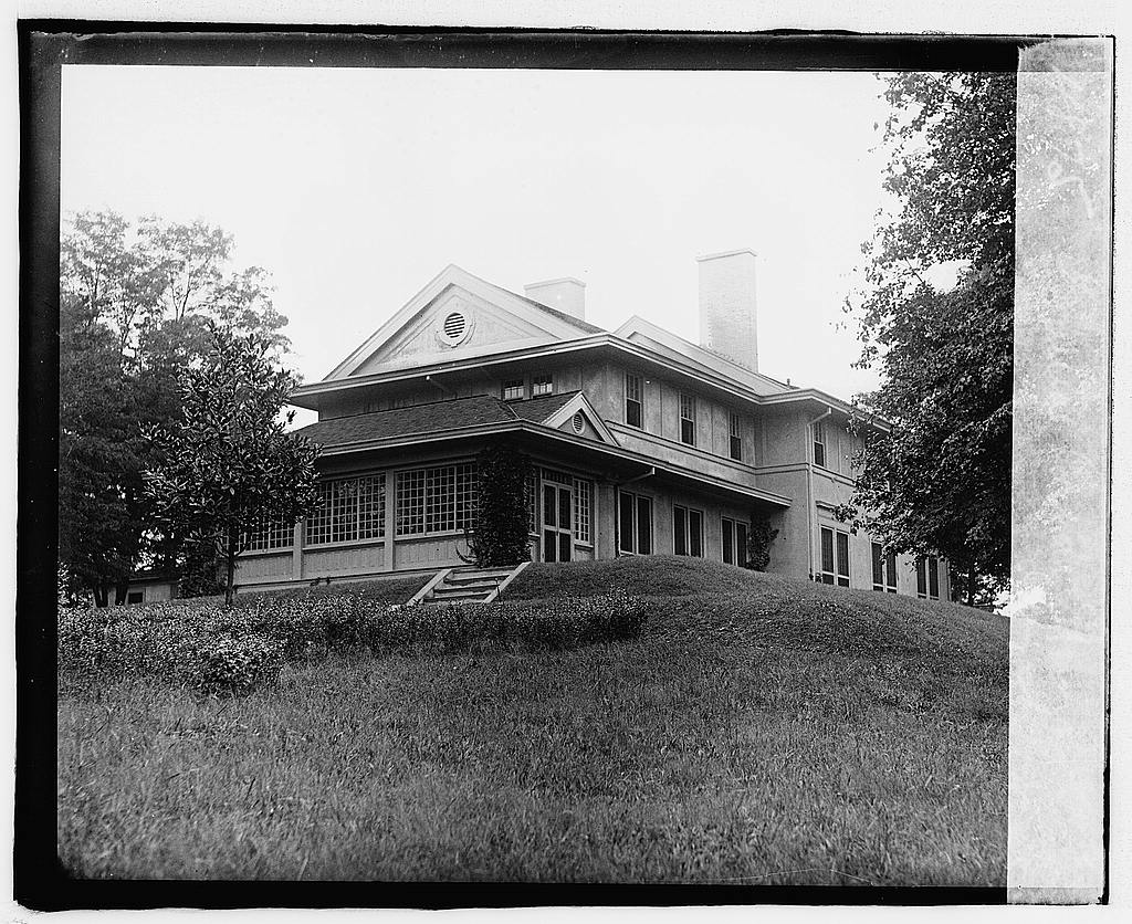 16 x 20 Reprinted Old Photo of...] Corbin House, Chevy Chase, [Maryland 1919 National Photo Co  34a