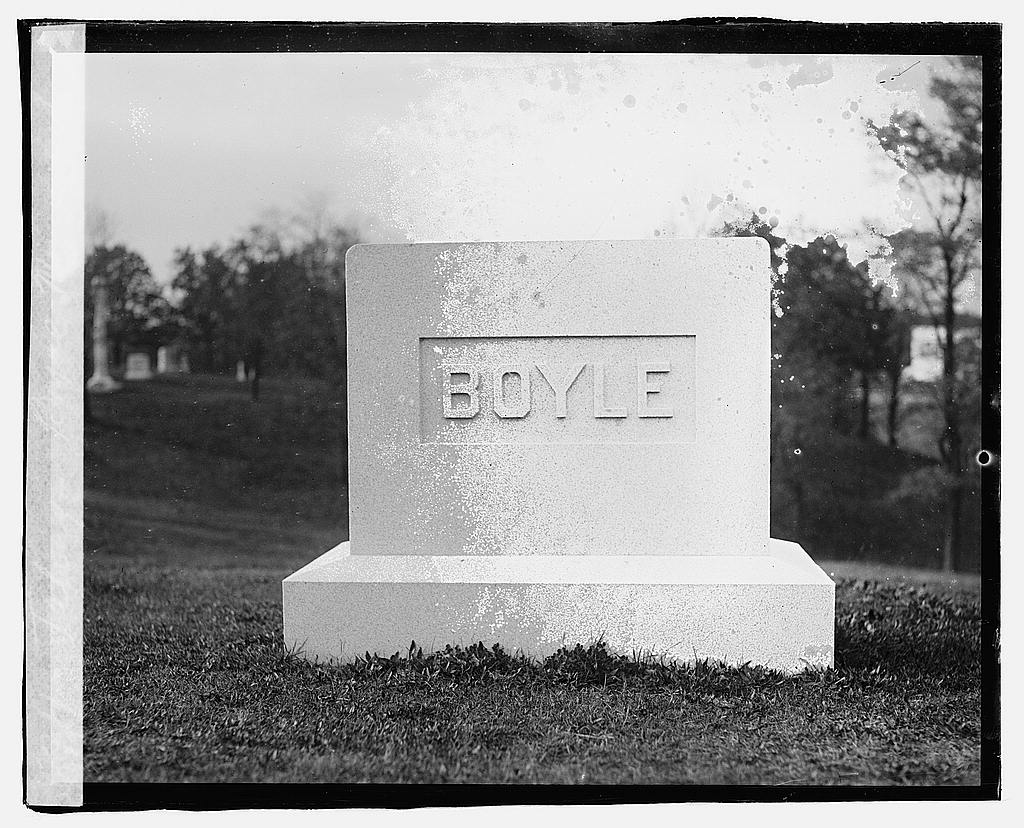 16 x 20 Reprinted Old Photo ofFalvey Boyle Monument 1919 National Photo Co  74a