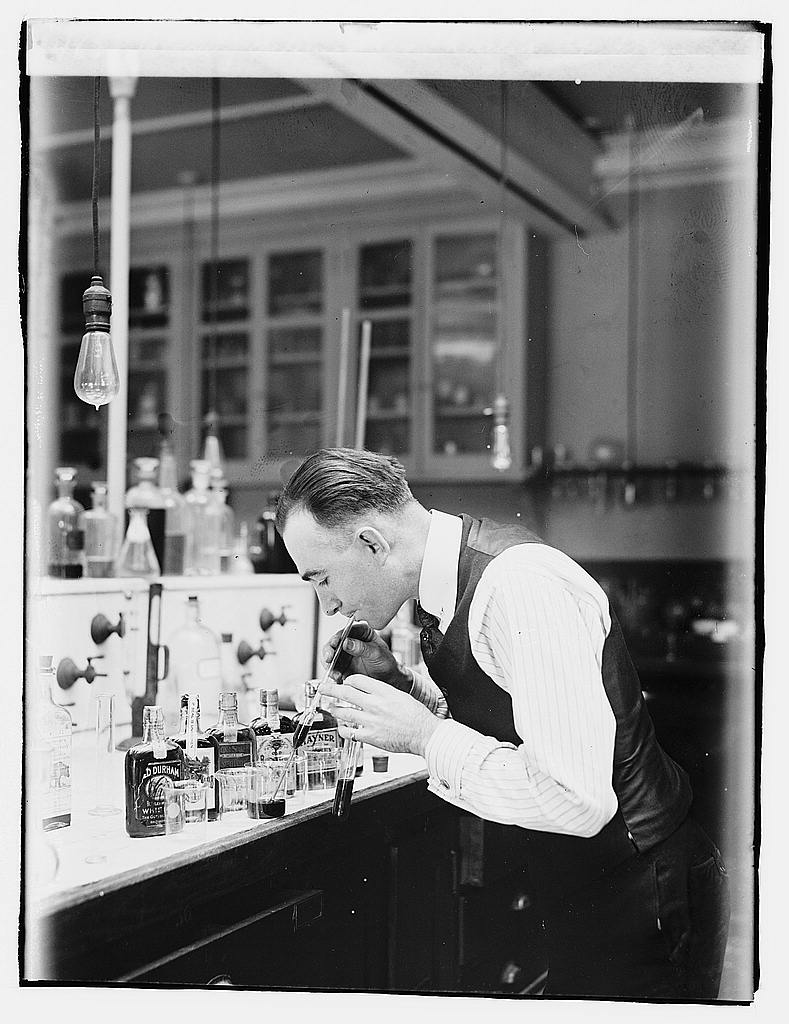 16 x 20 Gallery Wrapped Frame Art Canvas Print of Treasury, Internal Rev. Chemist G.F. Beyer 1920 National Photo Co  01a
