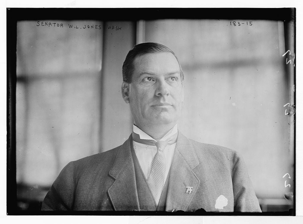8 x 10 Photo of Senator W.L. Jones, Washington, D.C. 1890-1920 G. Bain Collection 89a