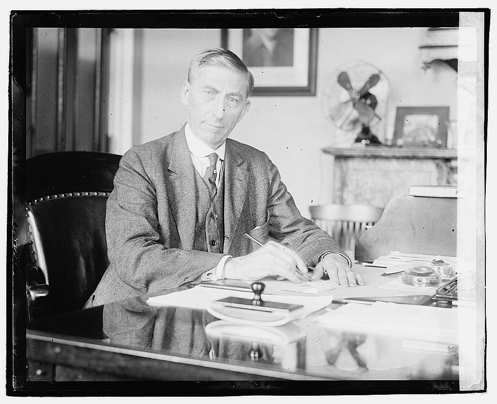 16 x 20 Reprinted Old Photo ofJohn Burke, Treasurer of U.S. 1920 National Photo Co  33a