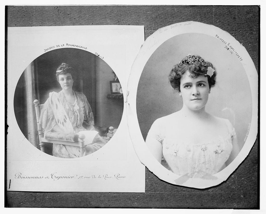 8 x 10 Photo of Princess Engalitcheff 1890-1920 G. Bain Collection 46a
