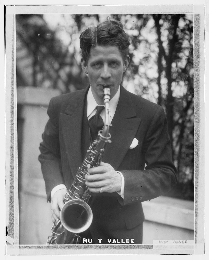 8 x 10 Photo of Rudy Valee 1890-1920 G. Bain Collection 90a