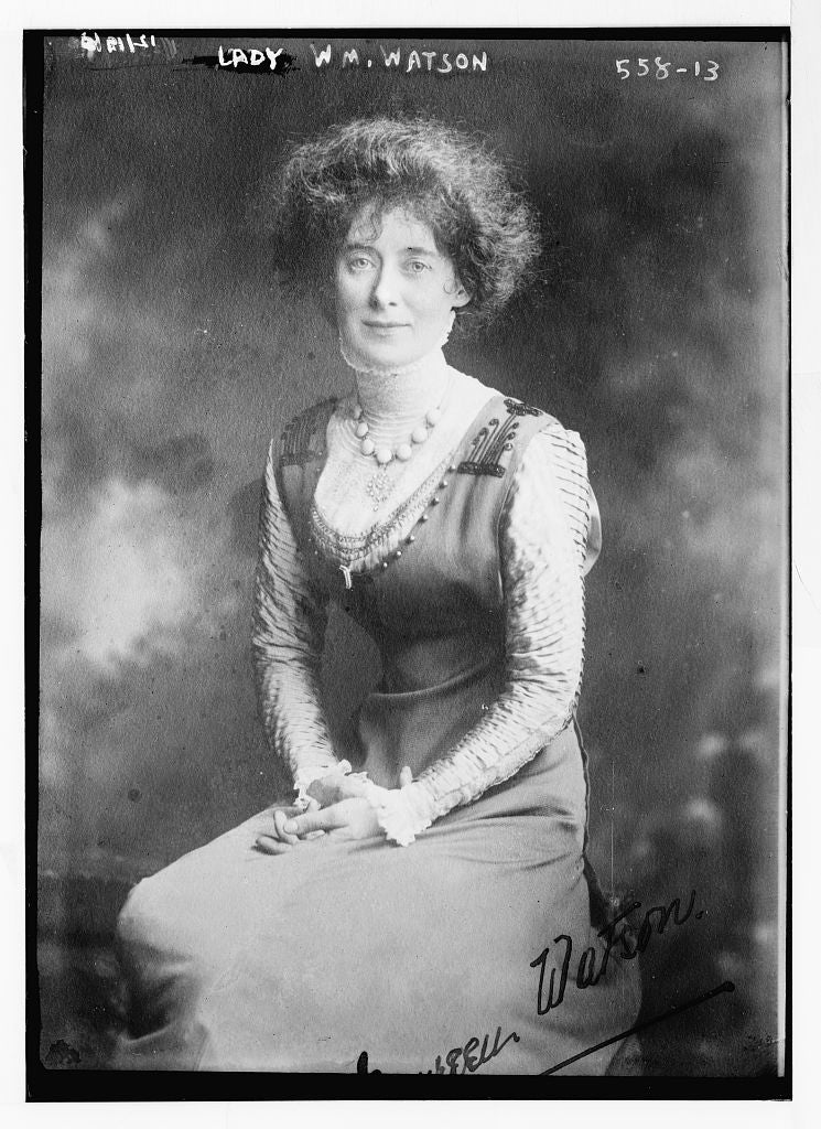 8 x 10 Photo of Lady Wm. Watson 1890-1920 G. Bain Collection 36a