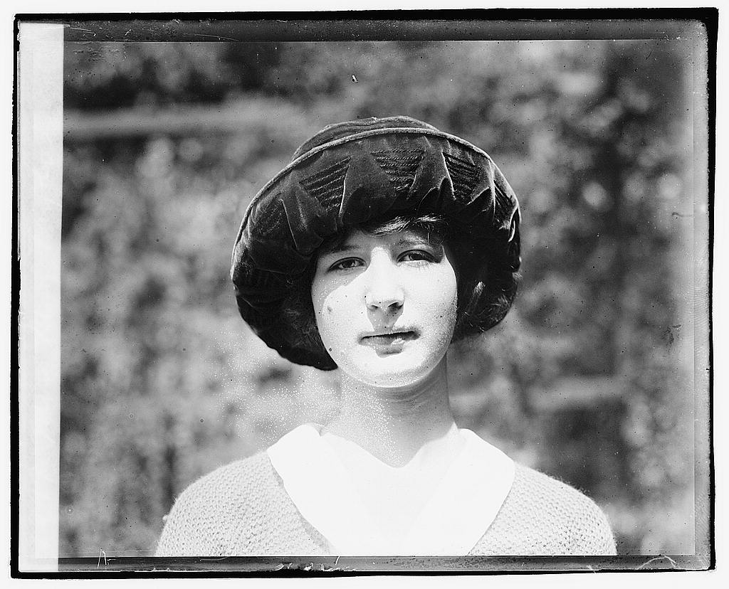 16 x 20 Reprinted Old Photo ofMiss May Taylor 1920 National Photo Co  40a
