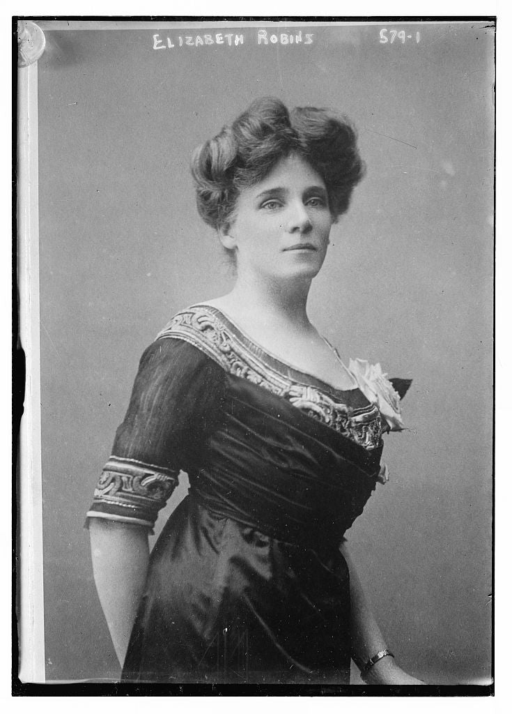 8 x 10 Photo of Elizabeth Robins 1890-1920 G. Bain Collection 21a