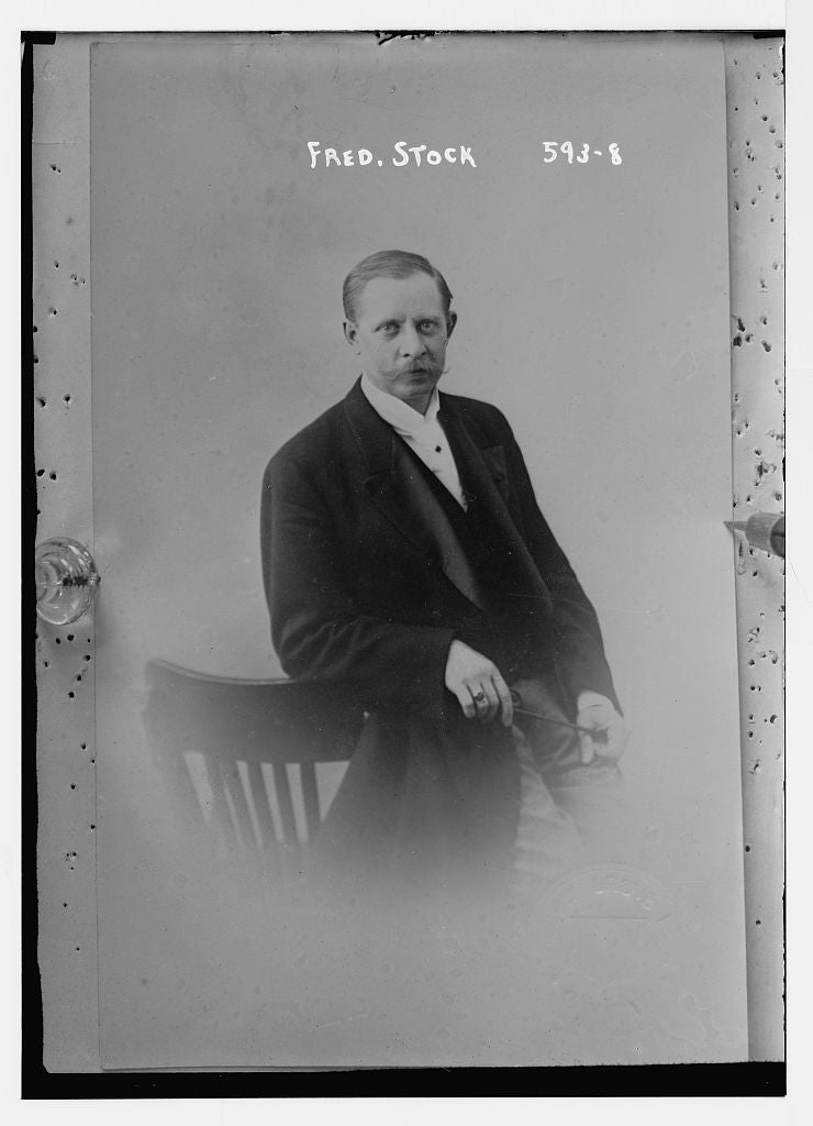 8 x 10 Photo of Fred. Stock 1890-1920 G. Bain Collection 00a