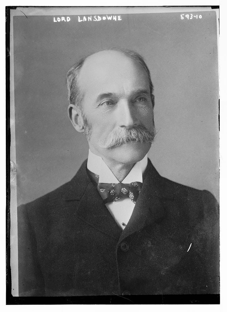 8 x 10 Photo of Lord Lansdowne, portrait bust 1890-1920 G. Bain Collection 01a