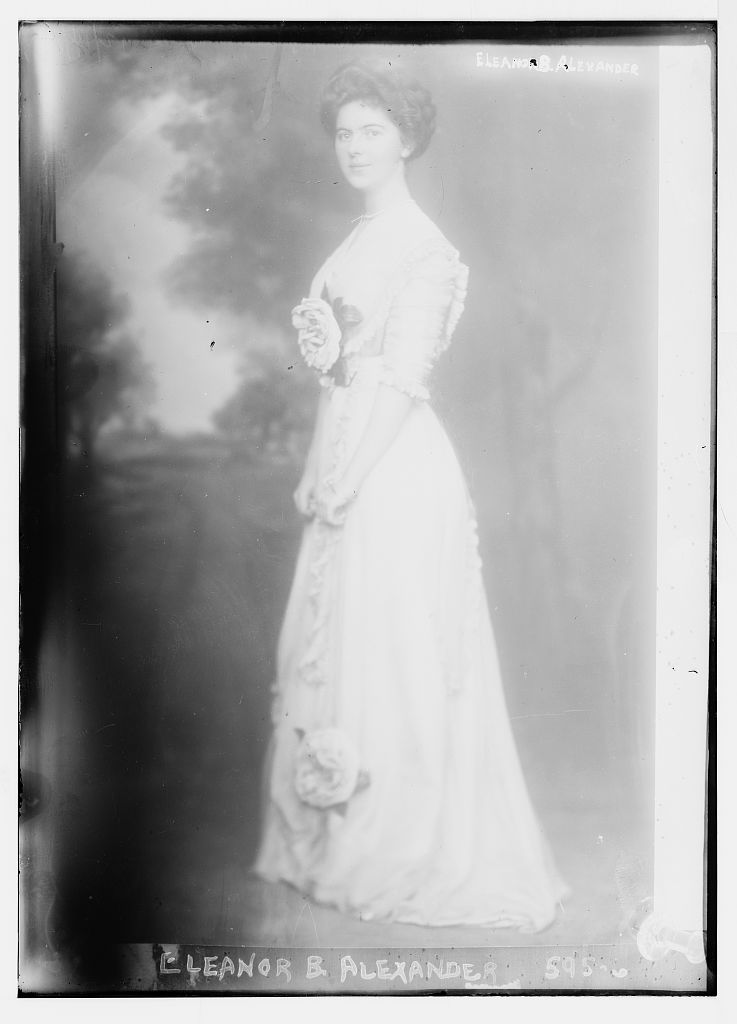 8 x 10 Photo of Eleanor B. Alexander 1890-1920 G. Bain Collection 11a