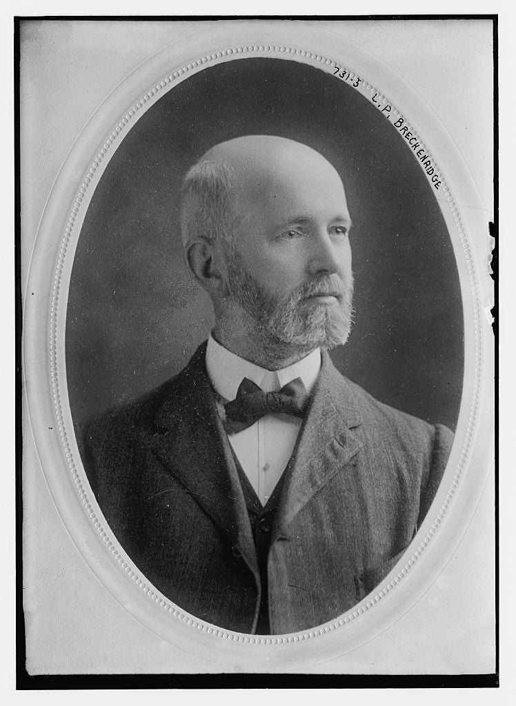 8 x 10 Photo of L.P. Breckenridge 1890-1920 G. Bain Collection 59a