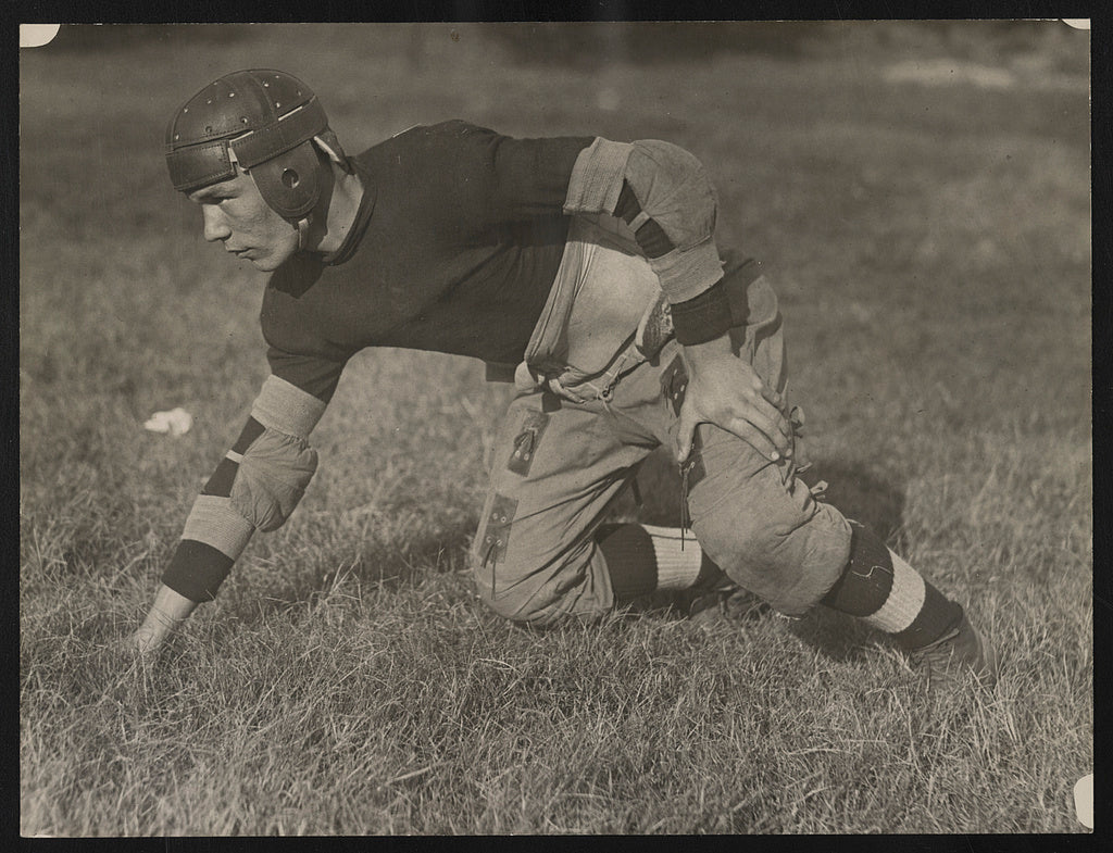 16 x 20 Reprinted Old Photo of [M. Capper, guard on the football team at Eastern High School, Washington, D.C.] 1923 National Photo Co  09a