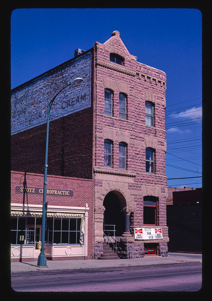 8 x 12 Photo of Yankton National Bank, Keley's Bar, Third Street, Yankton, South Dakota 1987 Margolies, John 03a