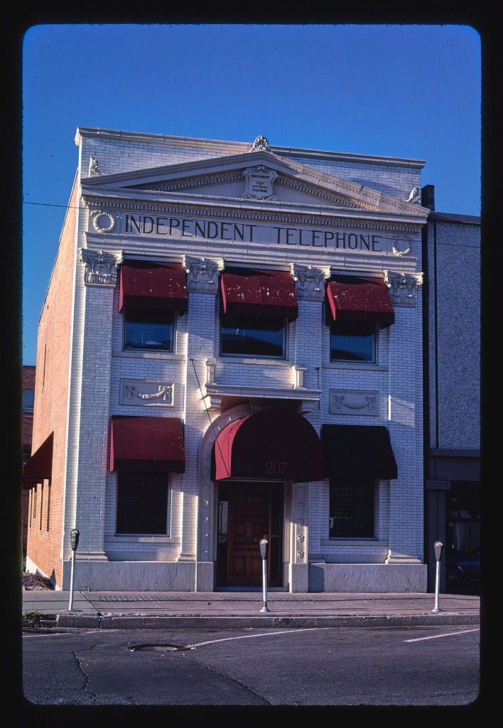 8 x 12 Photo of Independent Telephone Building, Main Street, Missoula, Montana 1987 Margolies, John 14a