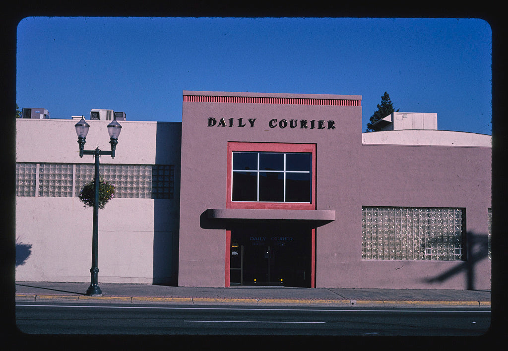 8 x 12 Photo of Daily Courier, Northeast 17th Street, Grants Pass, Oregon 2003 Margolies, John 27a
