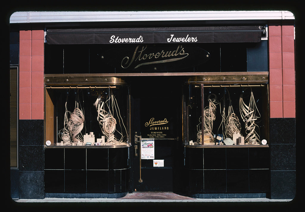 8 x 12 Photo of  Stoverud's Jewelry Store, Missoula, Montana  2004 Margolies, John 71a