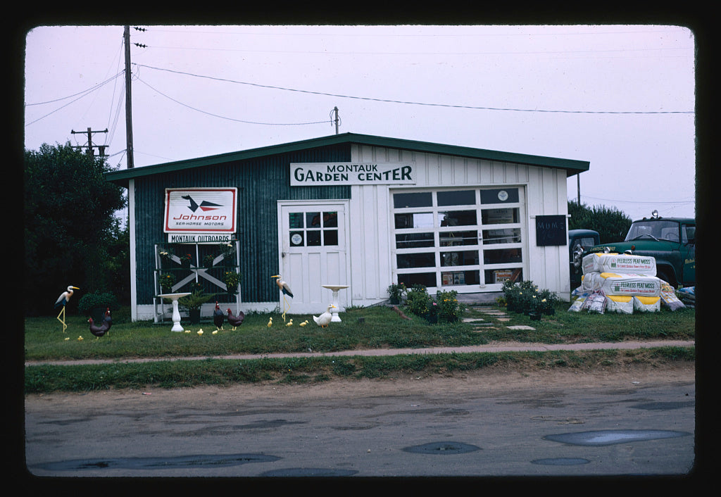 8 x 12 Photo of  Garden Center, Montauk, New York  1976 Margolies, John 38a