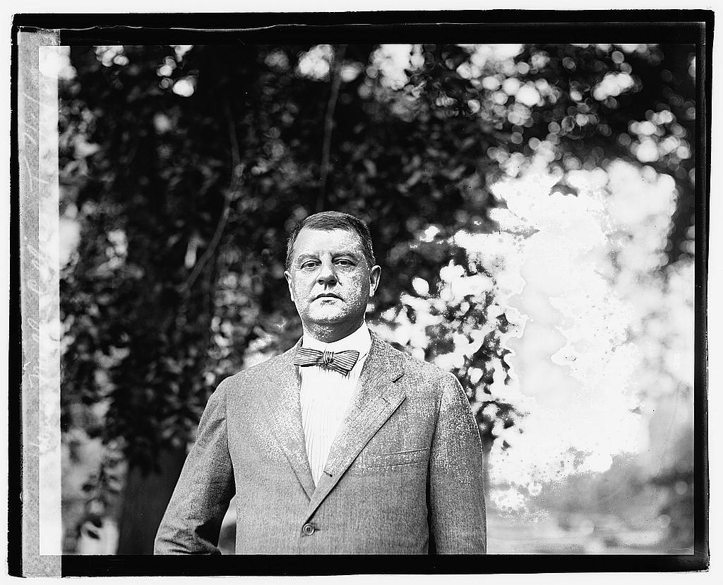 16 x 20 Reprinted Old Photo ofWm. Miller Collier, 7/6/21 1921 National Photo Co  57a